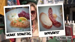 Bratwurst or Wiener Schnitzel